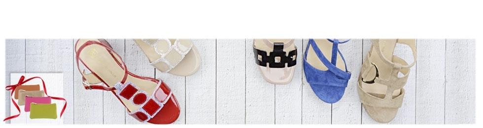 Sandalias de tacón medio