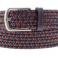 Cinturón piel trenzada tricolor Miguel Bellido 113430