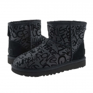 Botas 1107034 Classic Mini Sparkle Graffiti UGG