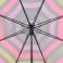 Paraguas largo automático gris y rayas Esprit 105010
