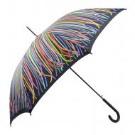 Paraguas largo automático rayas Benetton