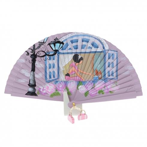 https://cache.paulaalonso.es/10819-106042-thickbox/abanico-rosa-vintage-ventana-azul-y-dama.jpg