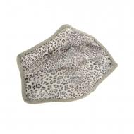 Mascarilla higiénica reutilizable infantil leopardo