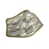 Mascarilla higiénica reutilizable infantil camuflaje