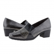 Zapatos licra elástica gris Doctor Cutillas