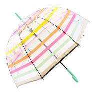 Paraguas transparente automático líneas Esprit