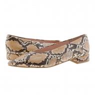 Zapatos imitación serpiente punta fina