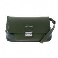 Bolso bandolera verde WB-46151 Wonders