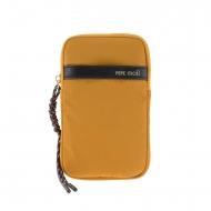 Bolso bandolera para móvil lona amarilla