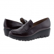 Zapatos piel charol burdeos C-33223 Wonders
